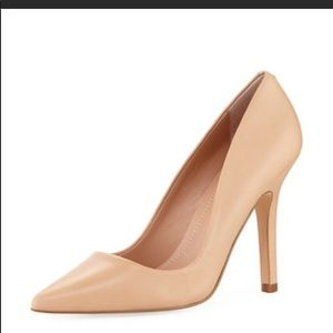Charles David Sweetness Leather Pointed-Toe Pump 7